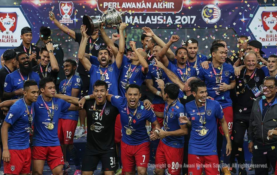 JDT Piala Malaysia 2017