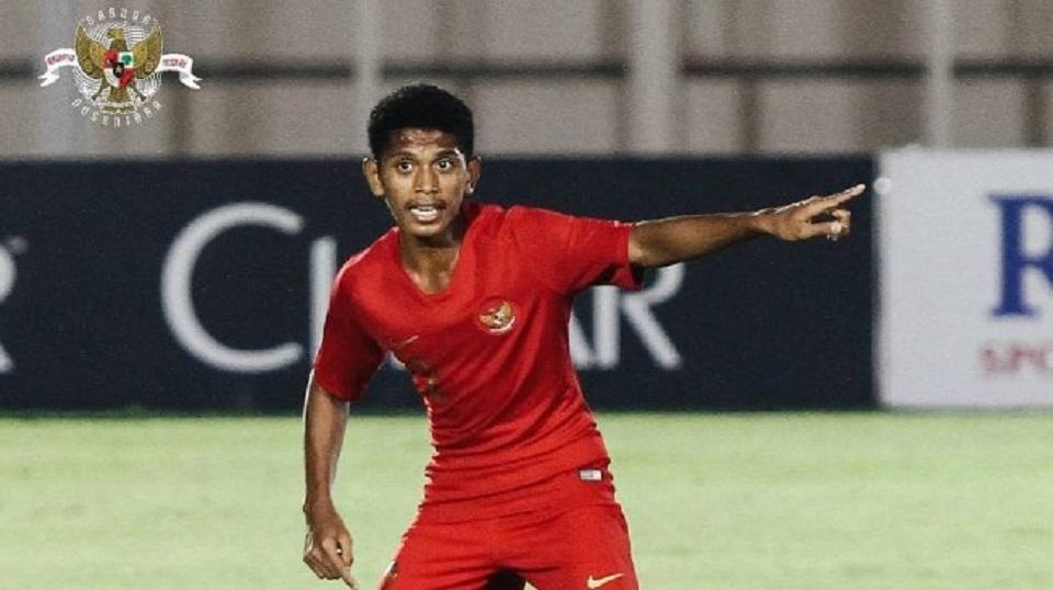 Bek Timnas Indonesia U-16, Alfin Lestaluhu. (Instagram/@officialpssi)