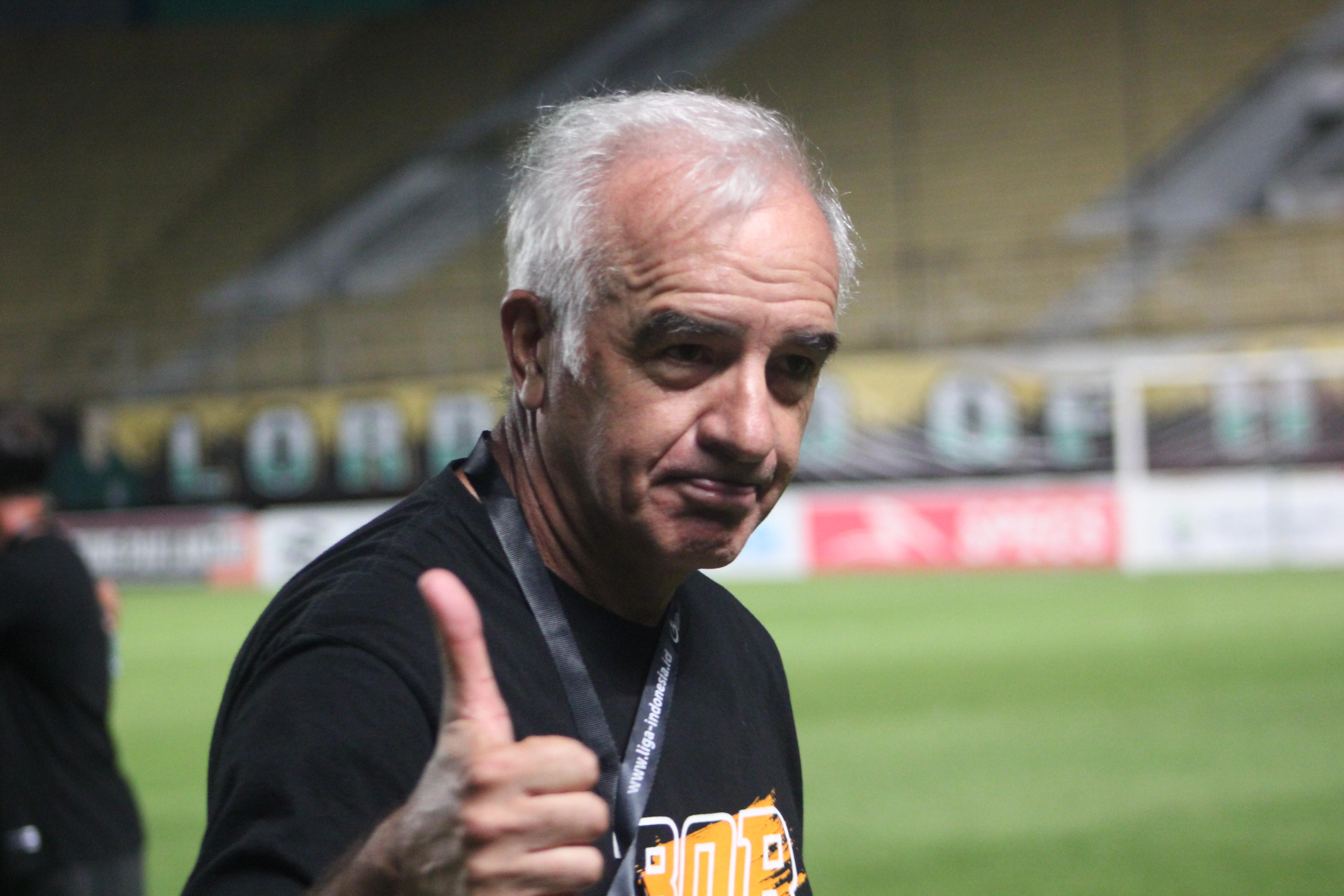 Pelatih Borneo FC, Mario Gomez. (Rialdi/Vocketfc).