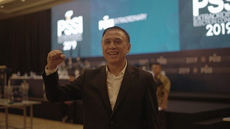 Ketua Umum baru PSSI periode 2019-2023, Mochamad Iriawan alias Iwan Bule. (Foto: PSSI).