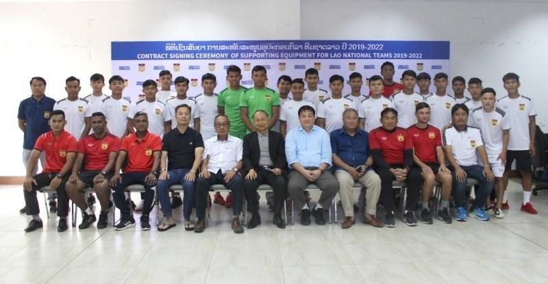 Timnas Laos U-23 di SEA Games 2019. (Foto: asean-football).