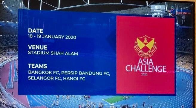 Piala Cabaran ASEAN 2019. (Foto: Instagram/@selangorfans_official).