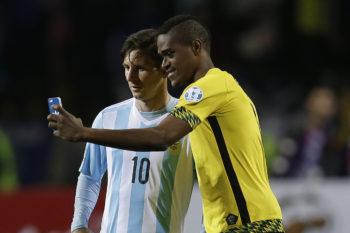Chile Soccer Copa America Argentina Jamaica