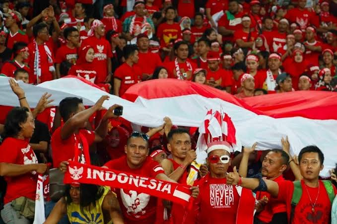 Suporter Timnas Indonesia. (Foto: PSSI).