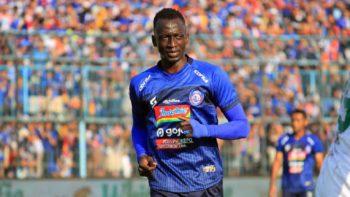 Gelandang Arema FC, Makan Konate. (Foto: Goal.com).