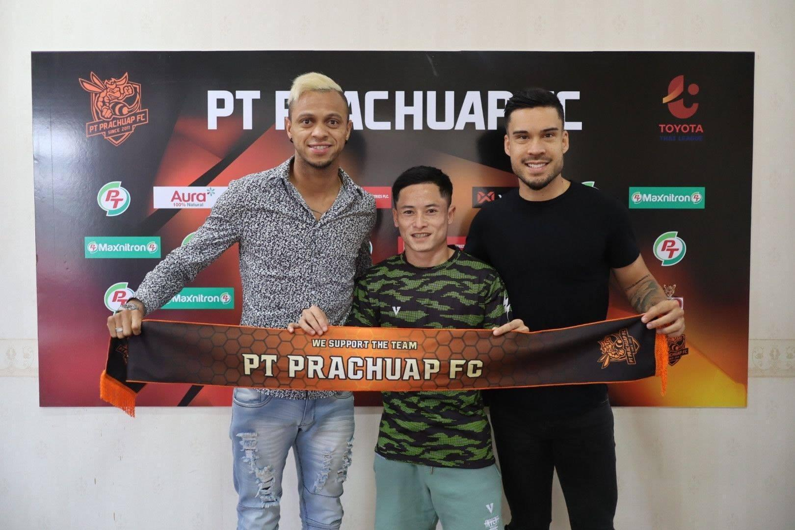 Pemainbaru Prachuap FC. (Foto: Thai League).
