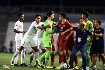 SEA Games 2019: Indonesia versus Vietnam. (Foto: Zing.vn).