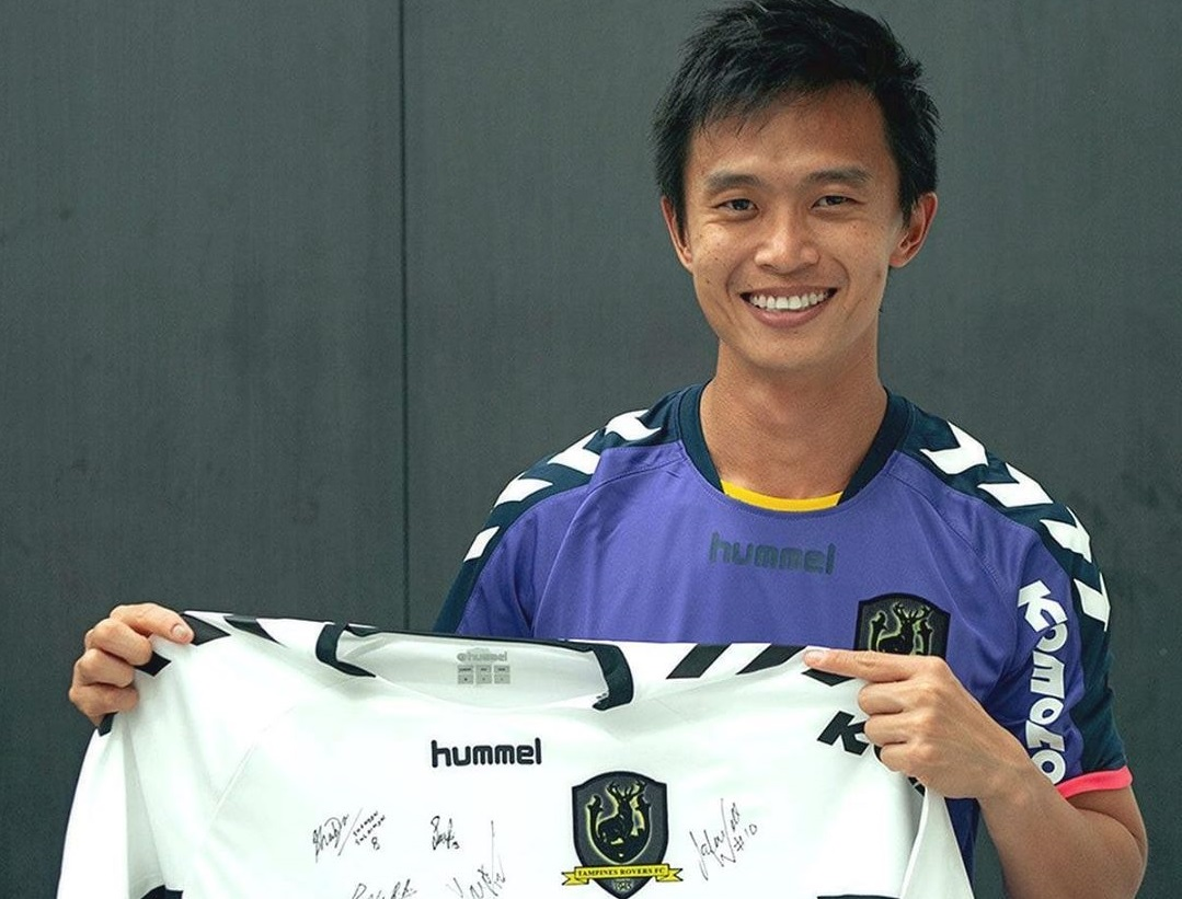Pelatih Tampines Rovers, Gavin Lee. (Intagram/@tampinesrovers).