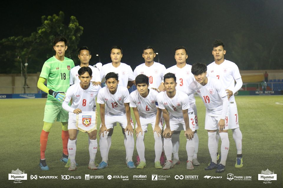 Myanmar di SEA Games 2019. (Foto: MFF).