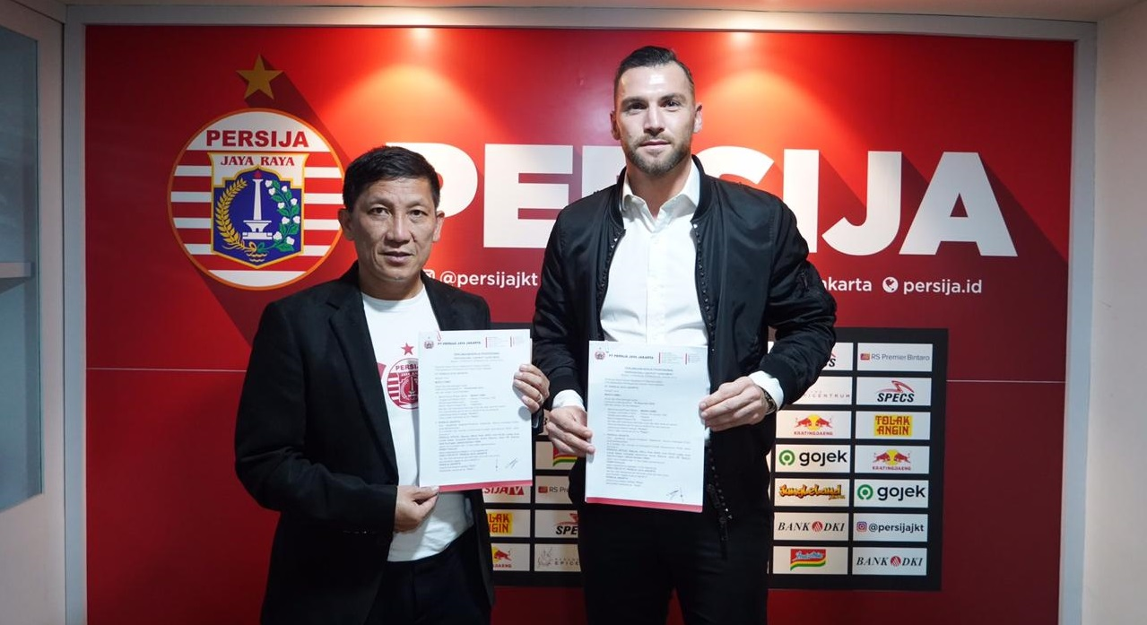 Marko Simic. (Foto: Persija).