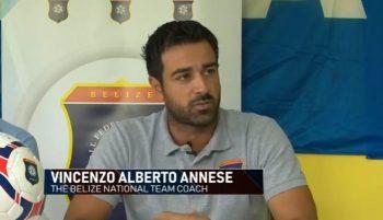 Pelatih Timnas Belize, Vicenzo Annsese. (Foto: Youtube).