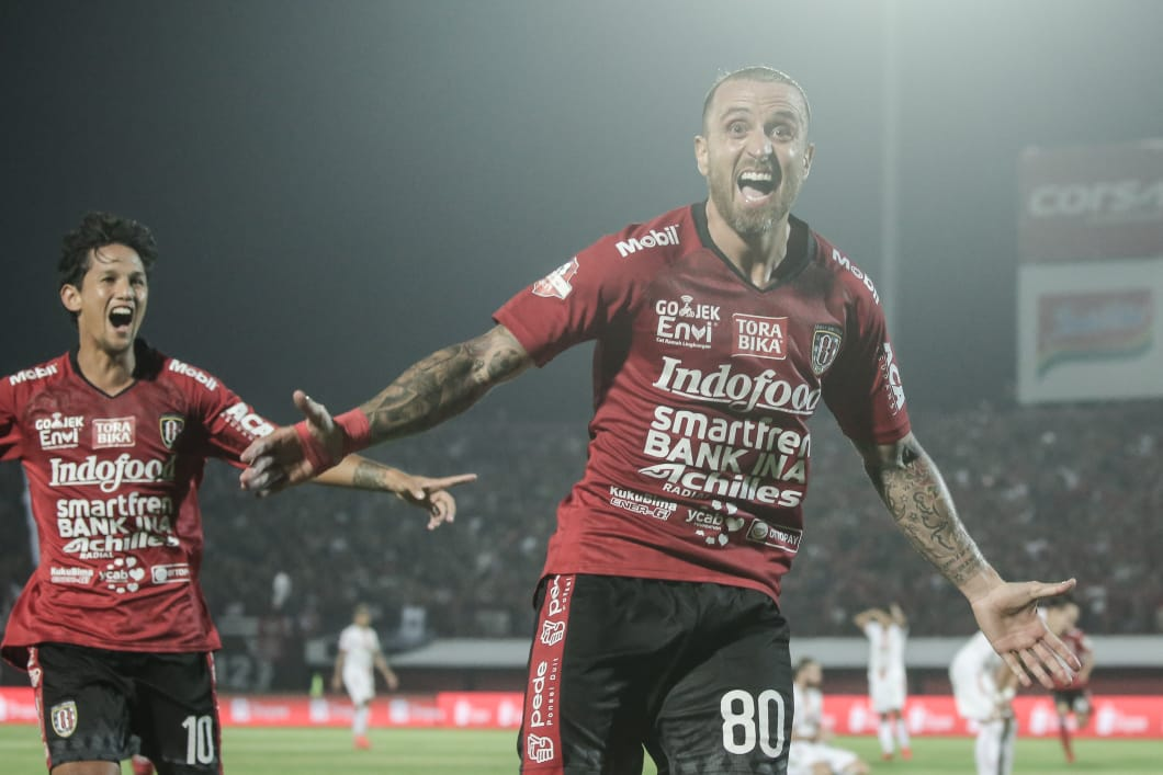 Gelandang asing Bali United, Paulo Sergio. (Foto: Bali United).