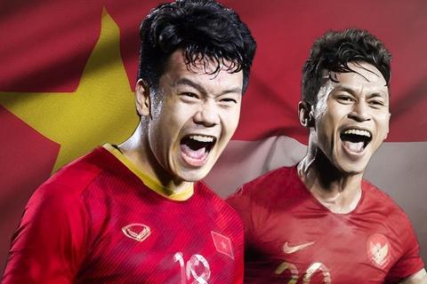 Vietnam vs Indonesia. (Foto: Zing.vn).