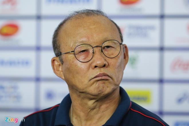Pelatih Timnas Vietnam U-23, Park Hang-seo. (Foto: Zing.vn).