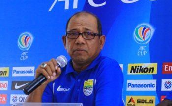 Emral Abus saat menjadi pelatih Persib Bandung di AFC Cup 2015. (Foto: PSSI).