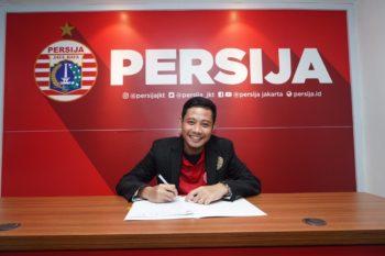 Evan Dimas resmi gabung Persija. (Foto: Persija.id)