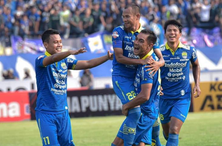 Gelandang asing Persib Bandung, Omid Nazari. (Instagram/@persib_official).