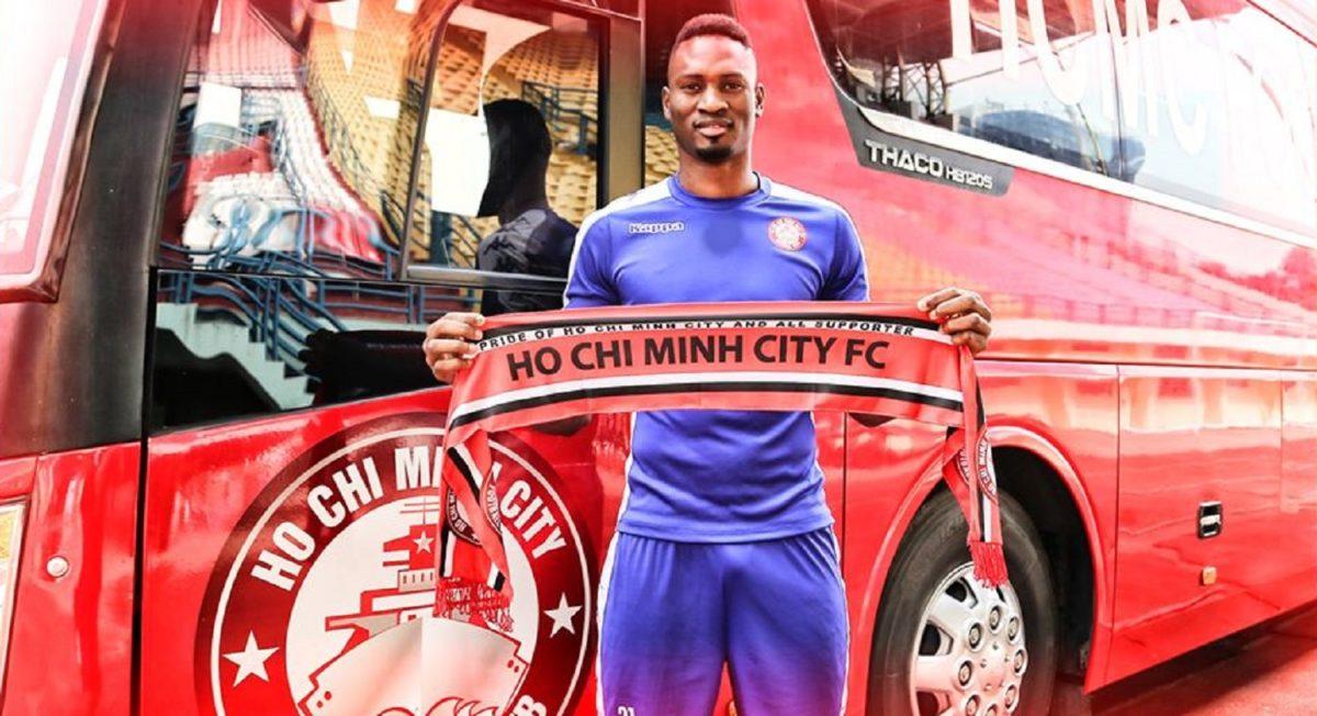 Amido Balde. (Facebook/HCMC FC).