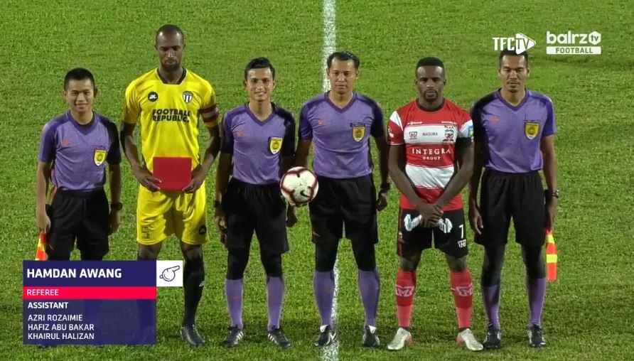 Terengganu Vs Madura United. (Facebook/Balrz.tv).