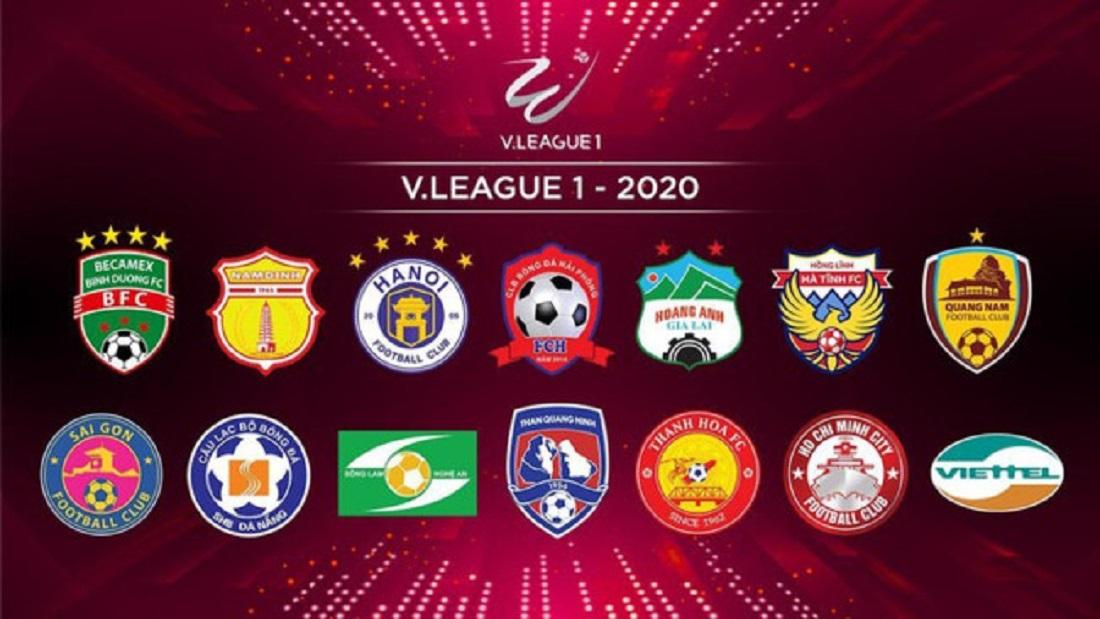 V.League 2020. (Foto: giaoducthoidai.vn).