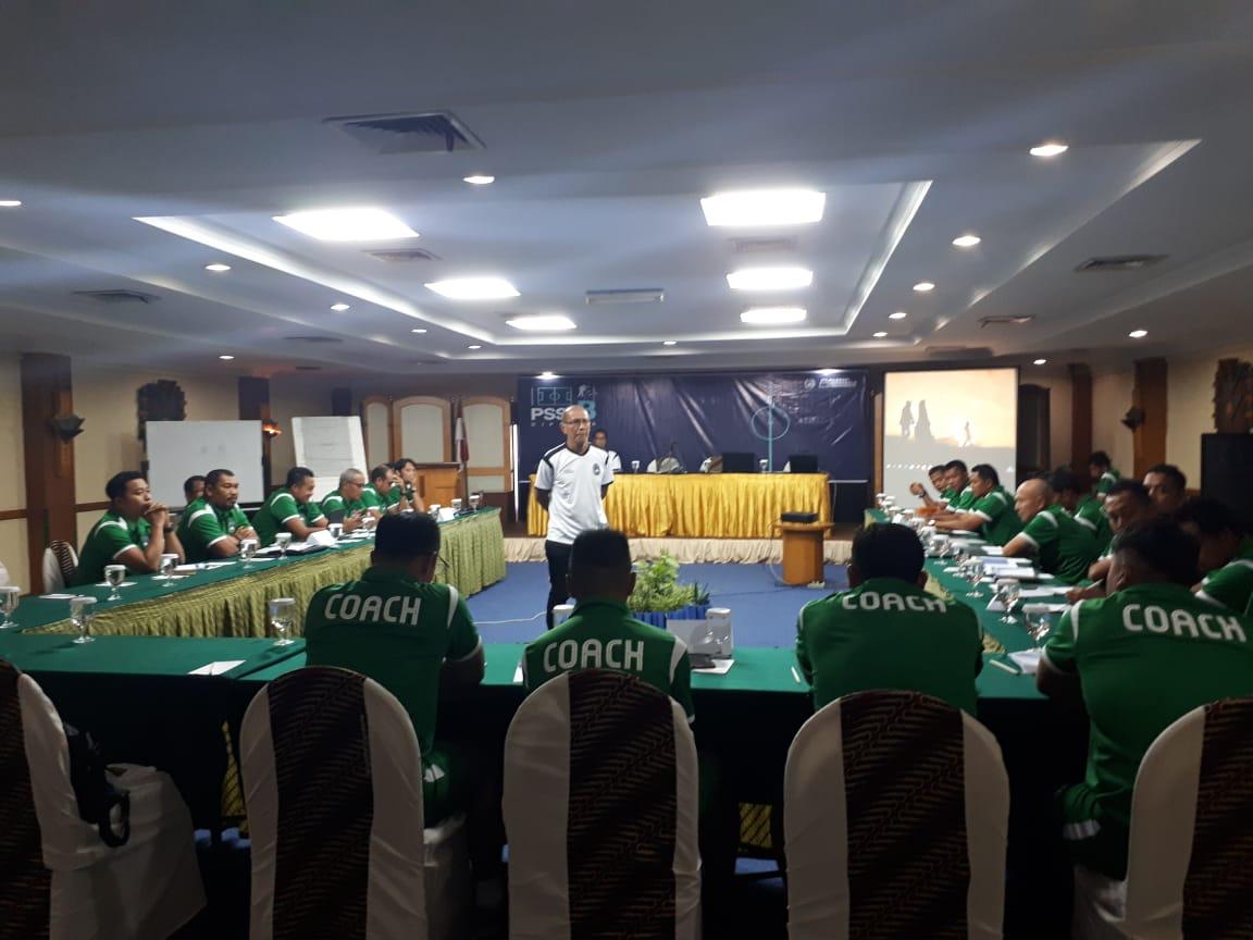 Kursus kepelatihan B AFC di Solo, Jawa Tengah. (Foto: PSSI).