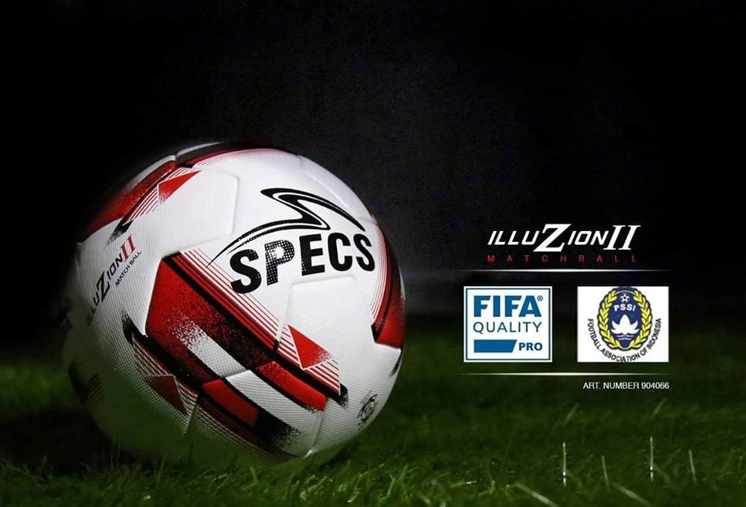 Liga 1 2020 gunakan bola merek Specs.