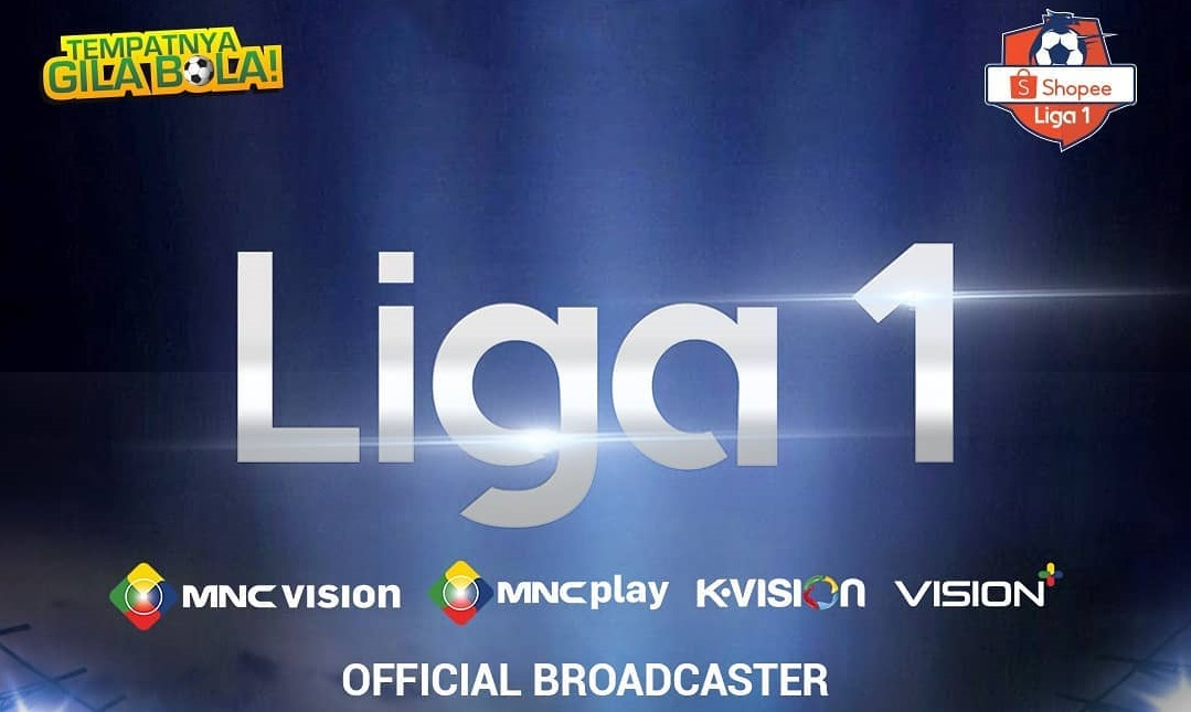 MNC Vision Networks siarkan Liga 1 2020. (Foto: Instagram/@mncvisionid).