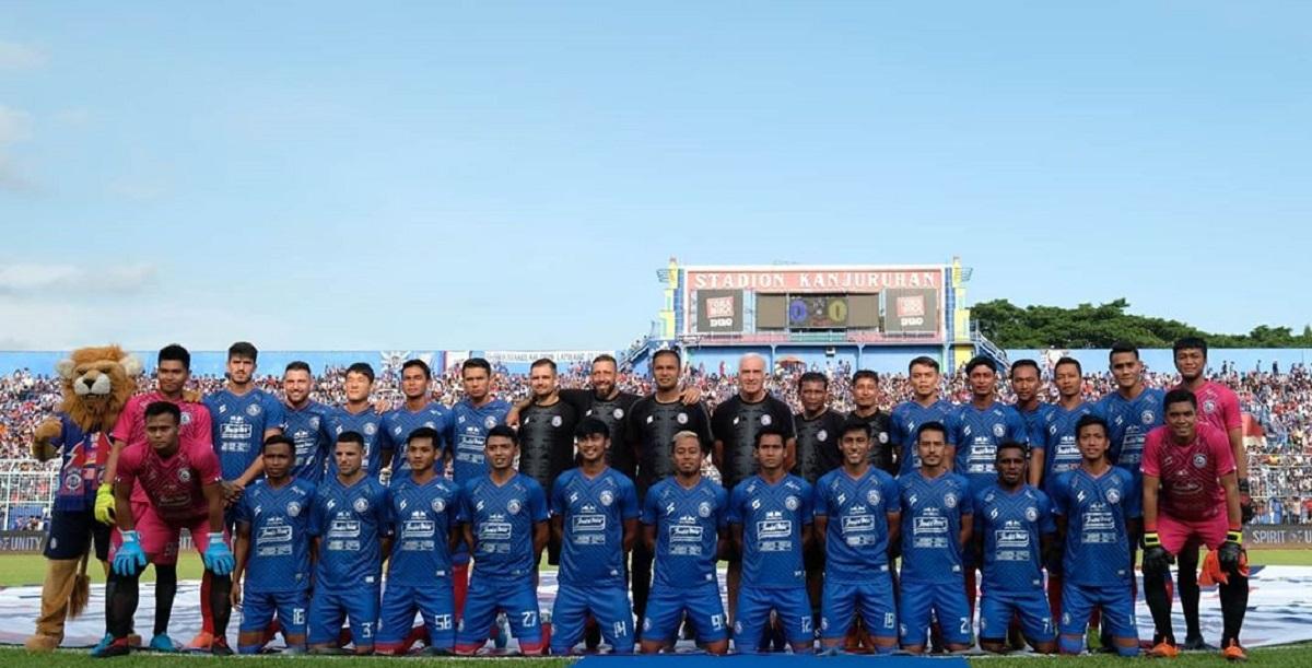 Daftar 26 pemain Arema FC untuk Liga 1 2020. (Instagram/@aremafcofficial).