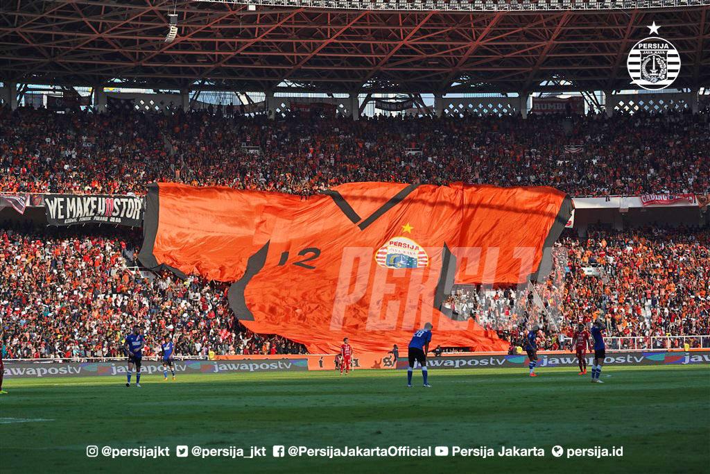 Leg pertama final Piala Indonesia 2019/2020. (Foto Persija.id).