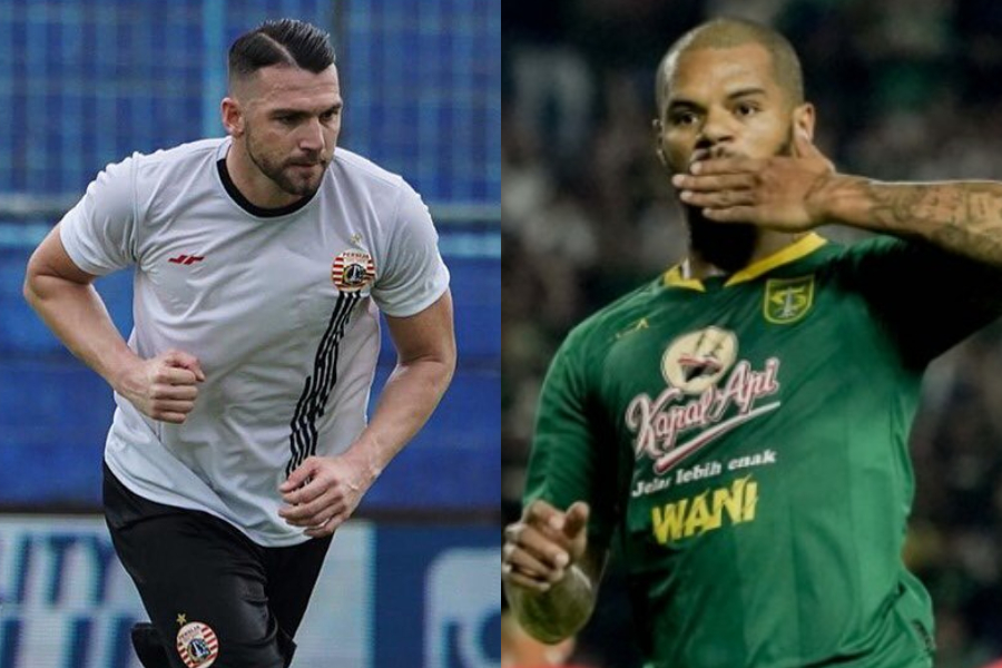 Marko Simic dan David da Silva.