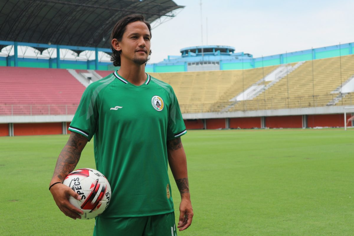 Irfan Bachdim resmi bergabung PS Sleman. (Vocketfc/Irwan Febri Rialdi).