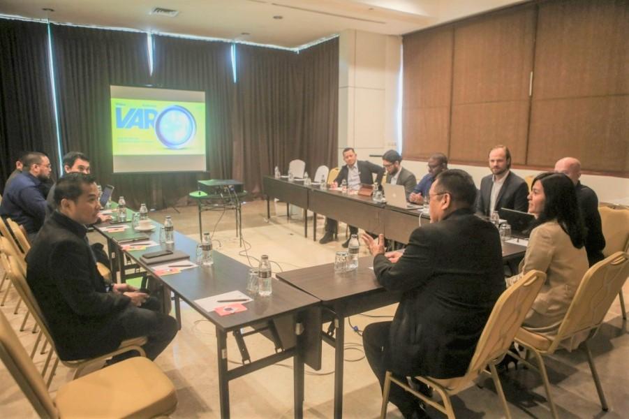 Rapat PSSI dengan perwakilan FIFA. (Foto: PSSI).