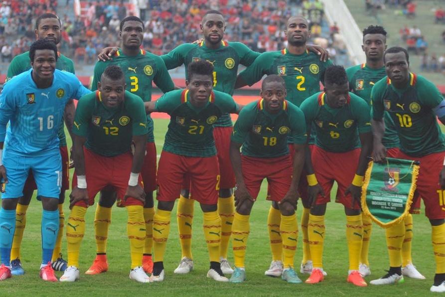 Timnas Kamerun saat menghadapi Indonesia pada 2015. (Foto: PSSI).