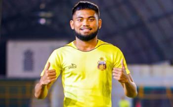Winger Bhayangkara FC. Saddil Ramdani. (Instagram/@bhayangkarafc).