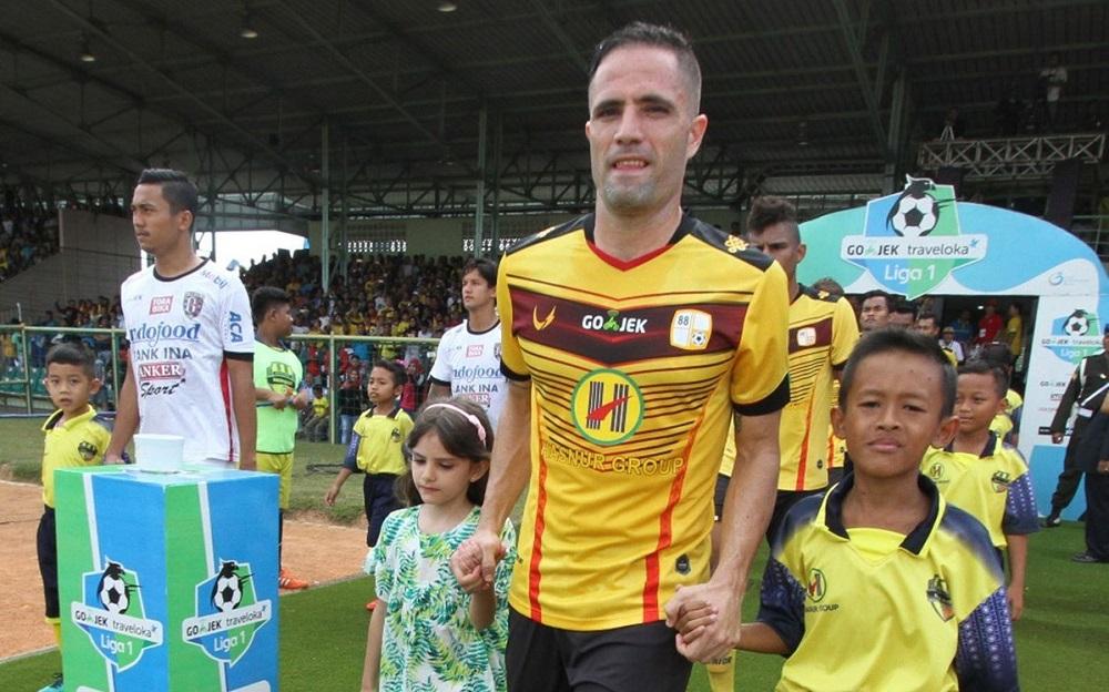 Eks gelandang Barito Putera, Matias Cordona. (Liga-Indonesia.id).