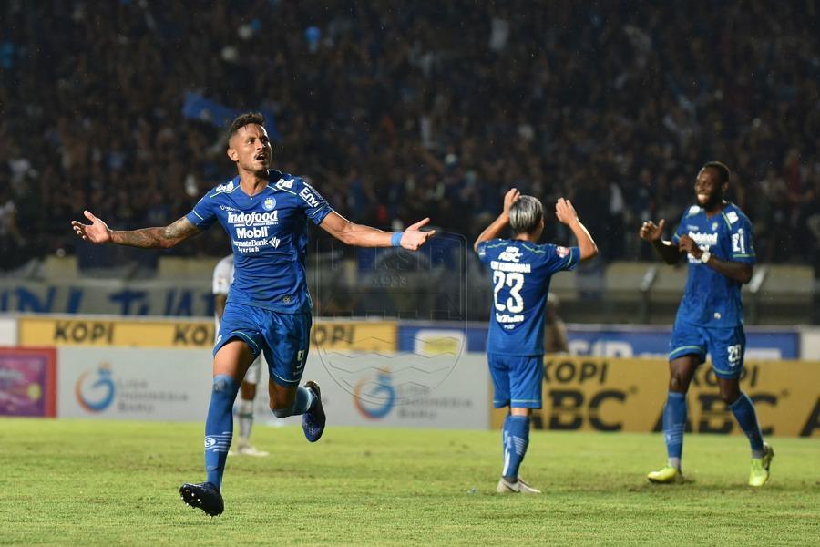 Striker Persib Bandung, Wander Luiz. (Dok. Persib).