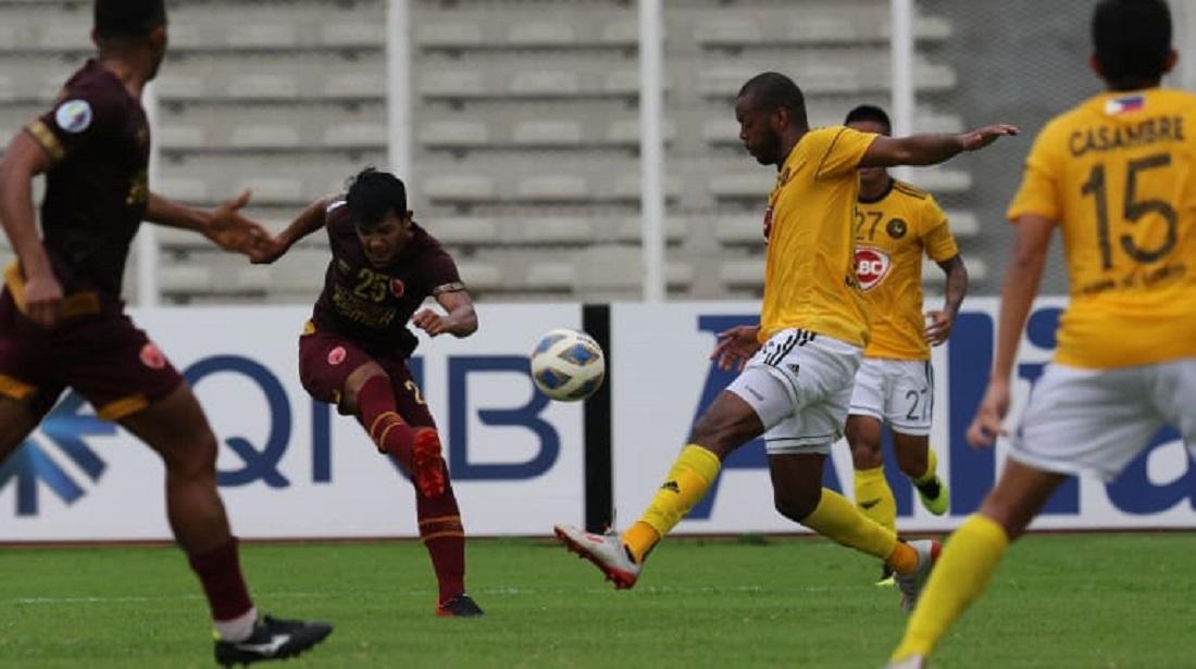 PSM Makassar vs Kaya FC. (Foto: AFC).