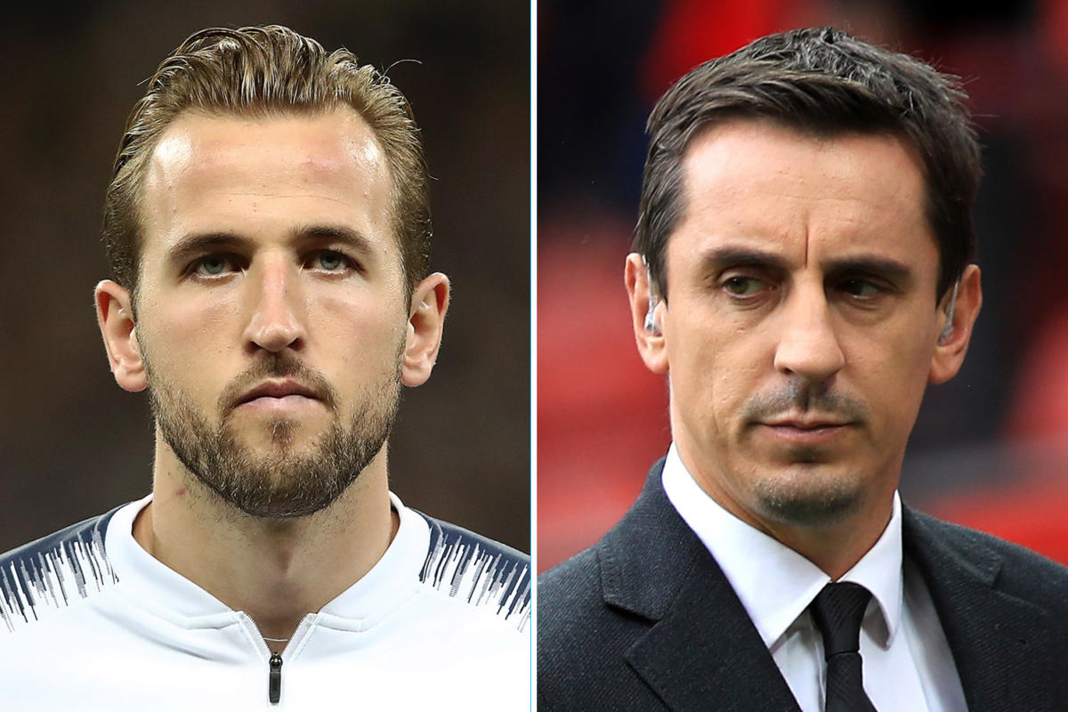 SPORT-PREVIEW-Harry-Kane-and-Gary-Neville