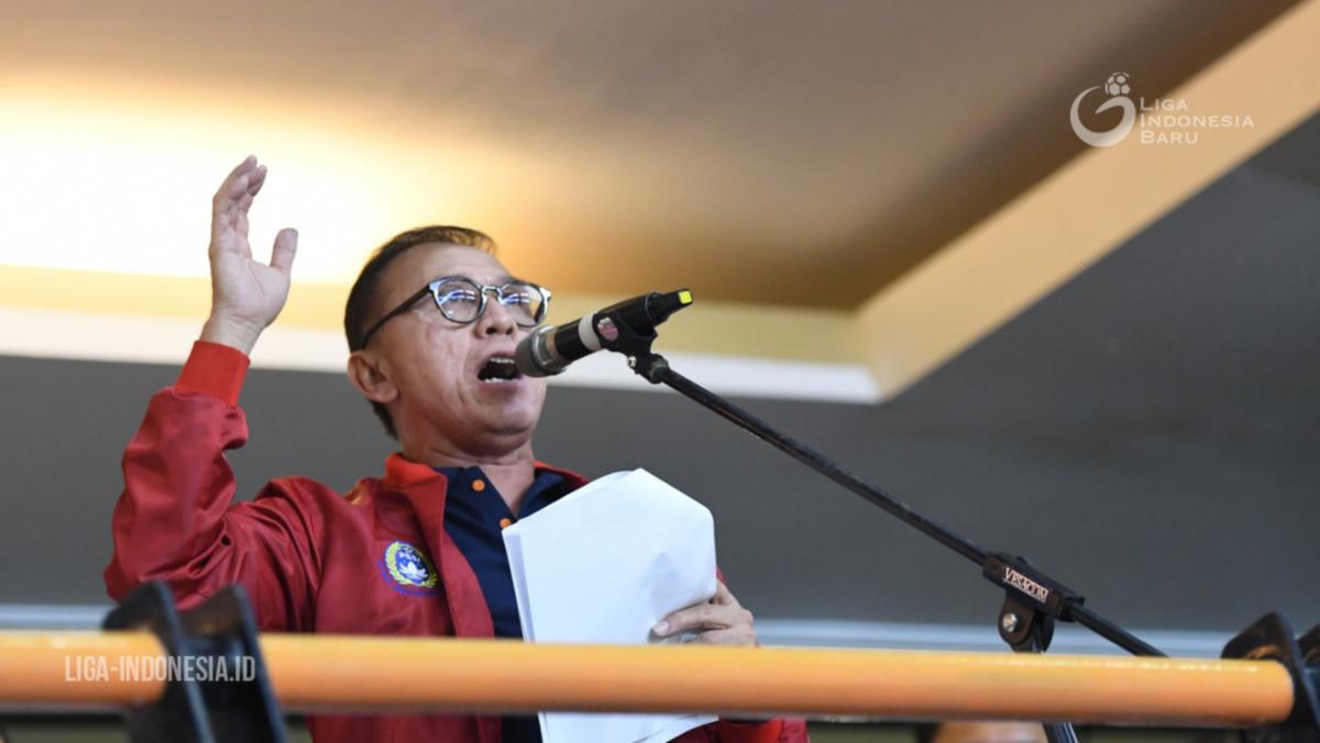 Ketua Umum PSSI, Mochawan Iriawan alias Iwan Bule. (Dok. LIB).