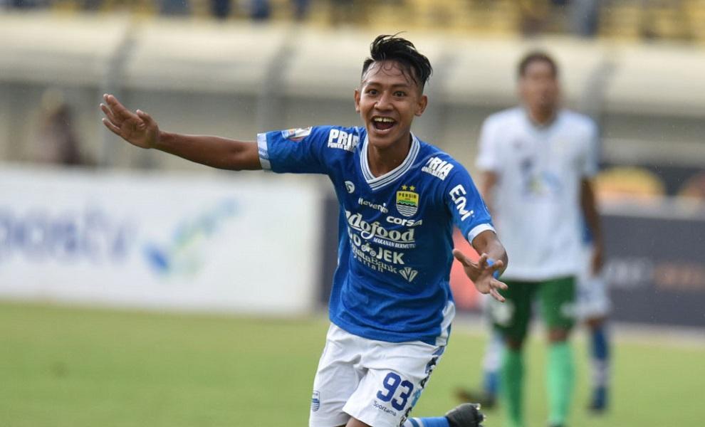 Gelandang muda Persib Bandung, Beckham Putra. (Dok. Persib).