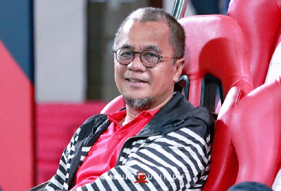 Direktur Madura United, Haruna Soemitro. (Dok. Madura United).
