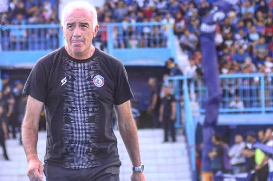 Pelatih Arema FC, Mario Gomez. (Instagram/@aremafcofficial).