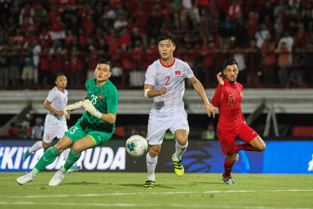 Timnas Indonesia vs Vietnam. (Foto: PSSI).