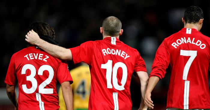 Carlos-Tevez-Wayne-Rooney-Cristiano-Ronaldo-Manchester-United
