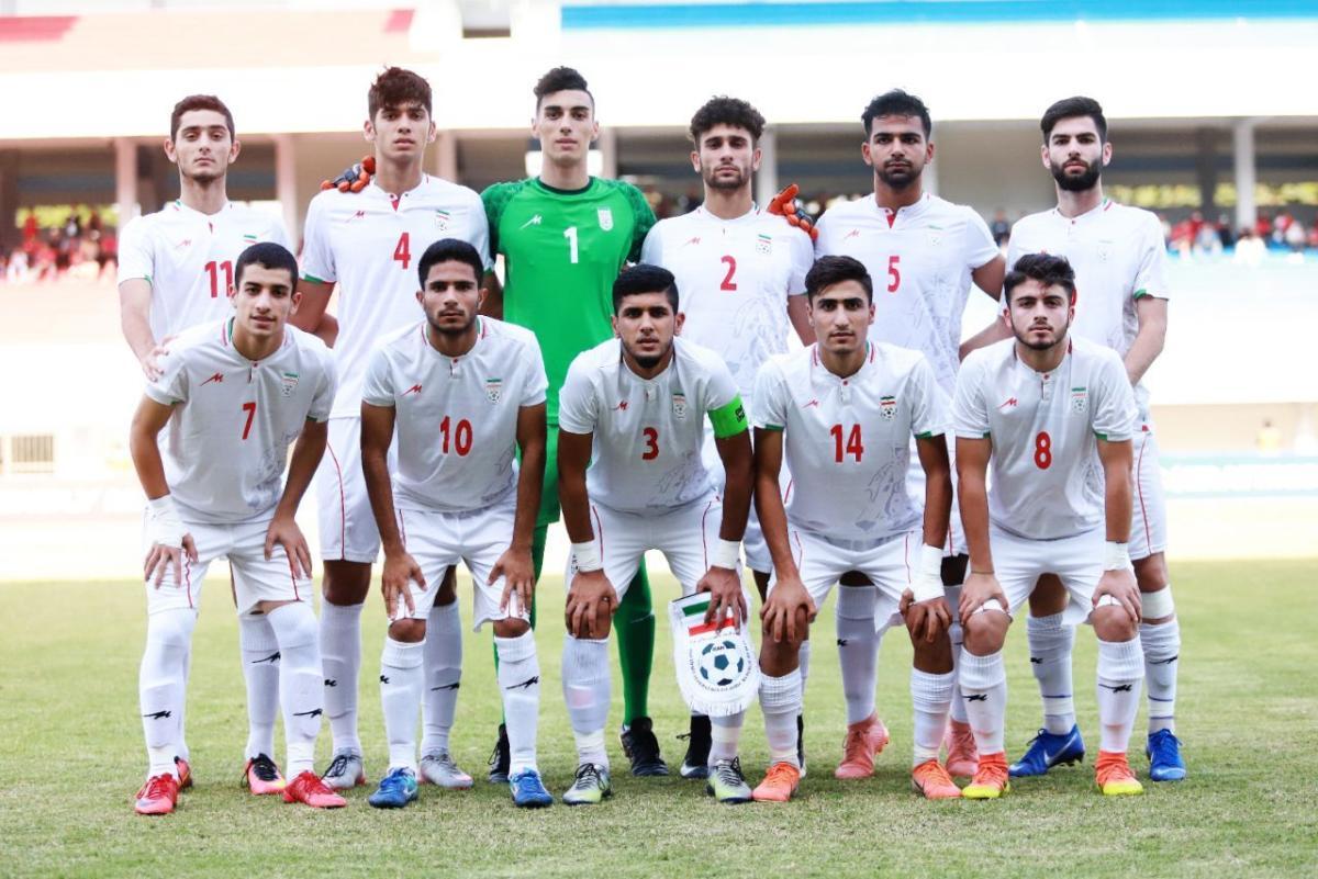 Timnas Iran U-19. (Foto: Persian League).