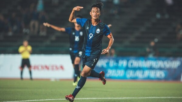 Bintang Timnas Kamboja U-19, Sieng Chanthea. (Foto: Camsports).