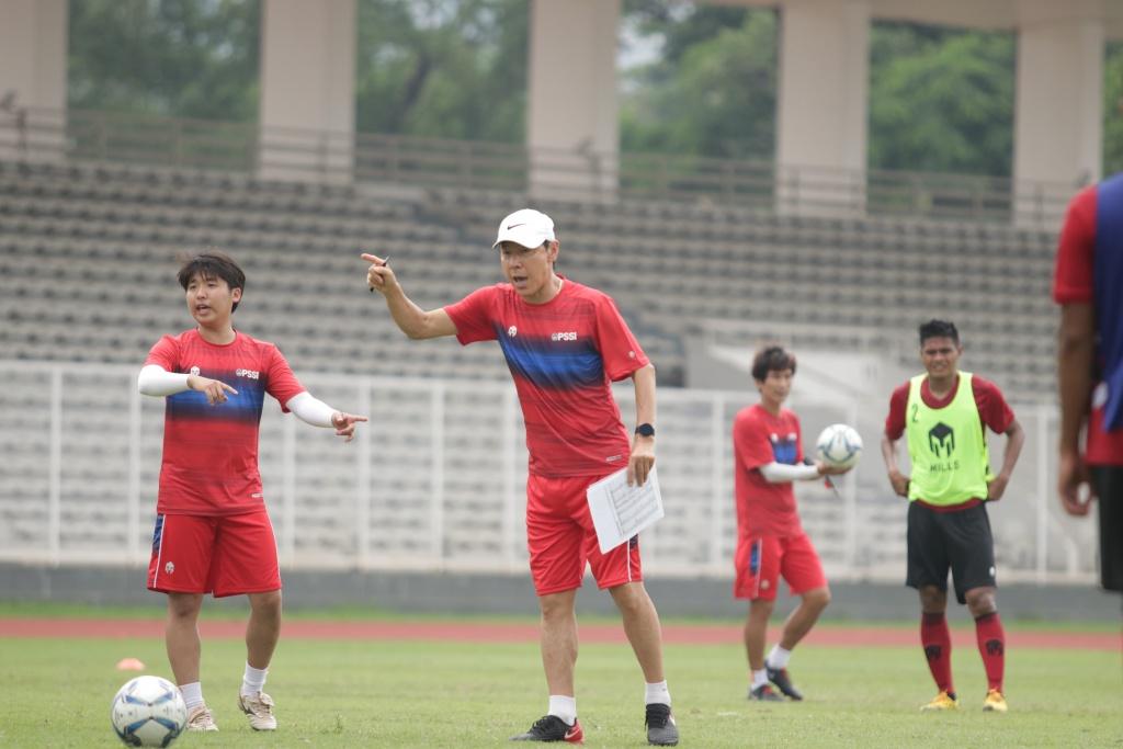 Manajer pelatih Timnas Indonesia, Shin Tae-yong. (Foto: PSSI).