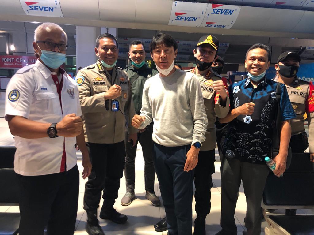 kedatangan Shin Tae-yong di Jakarta Juli