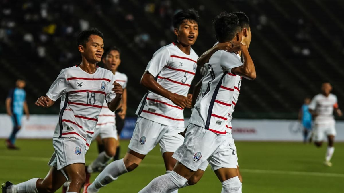 Timnas Kamboja U-19. (Foto: AFC).
