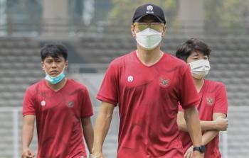Manajer pelatih Timnas Indonesia, Shin Tae-yong. (PSSI)